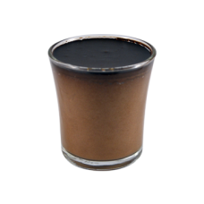 bitter chocolate mousse glass
