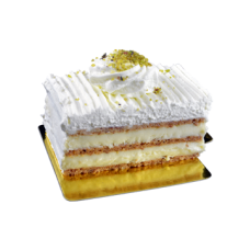 nougatine pastry cake piece