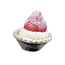 mini strawberry tart