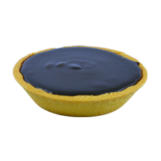 regular chocolate tart